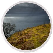 Isle Of Skye Views Round Beach Towel