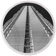 Isozaki Tower - Allianz Round Beach Towel