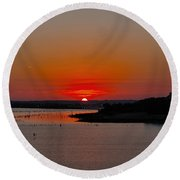 It Is Our Sunrise Round Beach Towel