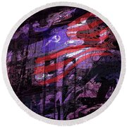 It Was Only A Dream . . . Round Beach Towel