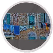 Italian Clothes Dryer Round Beach Towel