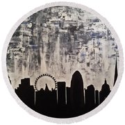 It's A London Thing Round Beach Towel