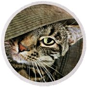 It's All About Me Round Beach Towel