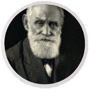 Ivan Pavlov, Russian Physiologist Round Beach Towel