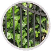 Ivy And Gate Round Beach Towel