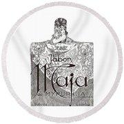 Jabon Round Beach Towel