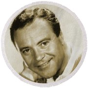 Jack Lemmon, Actor Round Beach Towel
