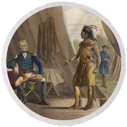 Jackson & Weatherford Round Beach Towel