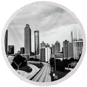 Atl  Round Beach Towel