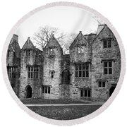 Jacobean Wing At Donegal Castle Ireland Round Beach Towel