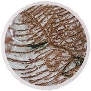 Jades Night Out - Tile Round Beach Towel