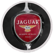 Jaguar Medallion Round Beach Towel