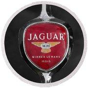 Jaguar Medallion Round Beach Towel
