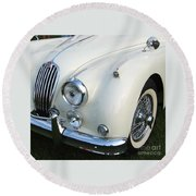Jaguar Xk150 Round Beach Towel