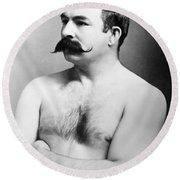Jake Kilrain (1859-1937) Round Beach Towel