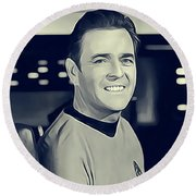 James Doohan, Scotty Round Beach Towel