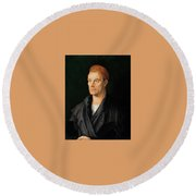 James II Fugger The Rich Round Beach Towel