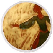 Jane - Tile Round Beach Towel