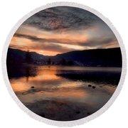 January 16 2010 Round Beach Towel