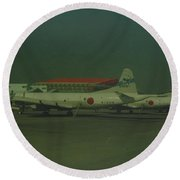 Japanese Airforce Round Beach Towel