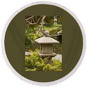 Japanese Friendship Garden 1 Round Beach Towel