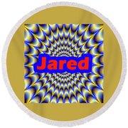 Jared Round Beach Towel