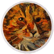 Jasper Round Beach Towel
