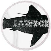 Jawsome Round Beach Towel