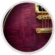 Jay Turser Guitar 6 Round Beach Towel
