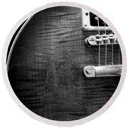 Jay Turser Guitar Bw 1 Round Beach Towel