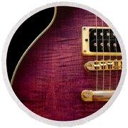 Jay Turser Guitar 3 Round Beach Towel