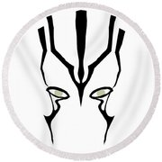 Jaylah Round Beach Towel