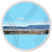 Jeep Territory Round Beach Towel