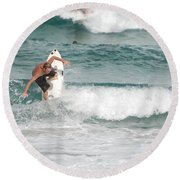 Jeff Spicolli Round Beach Towel