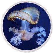 Jellyfish Round Beach Towel