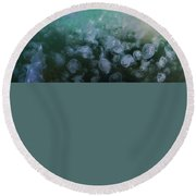 The Lighthous - Jellyfish Soup Round Beach Towel