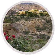 Jerome's Douglas Mansion Round Beach Towel