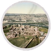 Jerusalem, C1900 Round Beach Towel