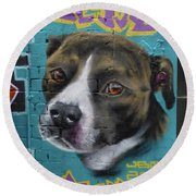 Jessie Round Beach Towel