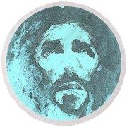 Jesus - 3 Round Beach Towel