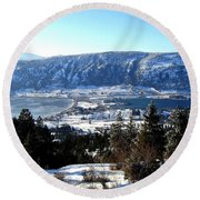 Jewel Of The Okanagan Round Beach Towel