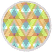 Jeweled Round Beach Towel