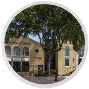 Jewish Museum Of Florida  Round Beach Towel