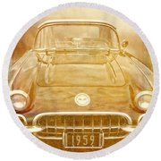 Jimmy Bobs Treasure Round Beach Towel