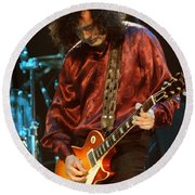 Jimmy Page-0021 Round Beach Towel