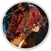 Jimmy Page-0022 Round Beach Towel