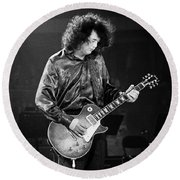 Jimmy Page-0028 Round Beach Towel