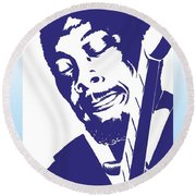 Jimmy Rogers Round Beach Towel