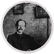 J.j. Thomson, English Physicist Round Beach Towel