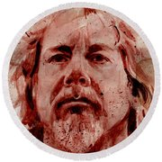 Joe Young - Antiseen Round Beach Towel